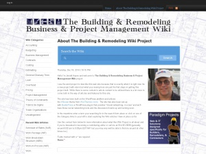 The Building and Remodeling Business & Project Management Wiki.com